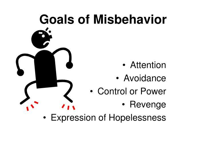 Goals of Misbehavior