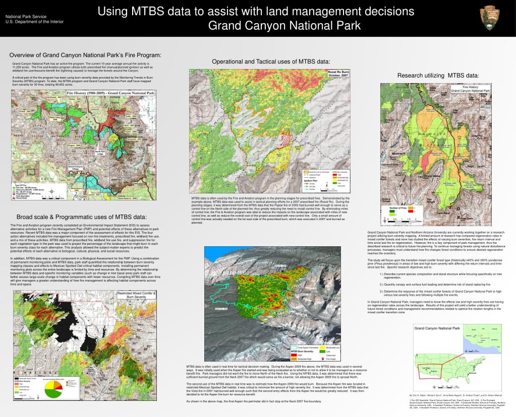 Using MTBS data to assist with land management decisions