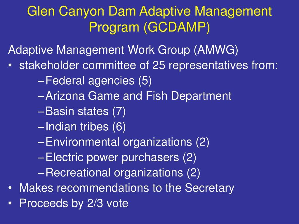 Glen Canyon Dam Adaptive Management Program (GCDAMP)