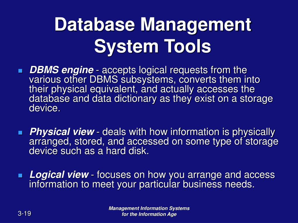 database management software definition