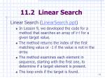 11 2 linear search