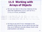 11 5 working with arrays of objects69
