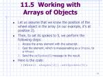 11 5 working with arrays of objects71