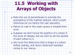 11 5 working with arrays of objects72