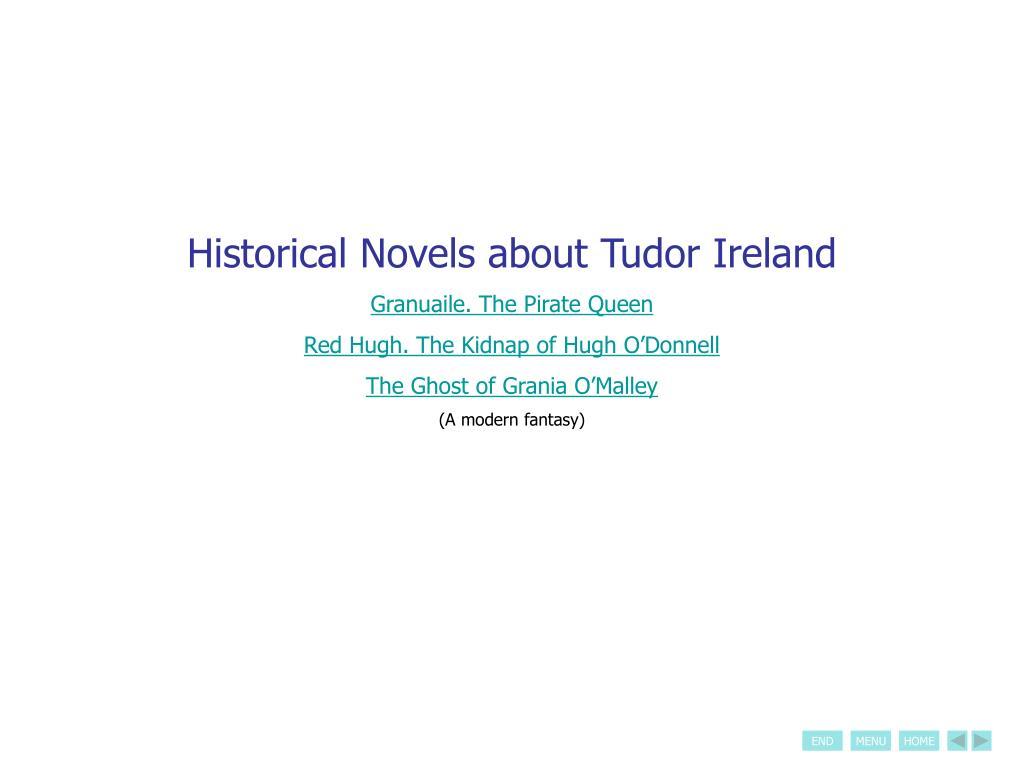 Historical Novels about Tudor Ireland