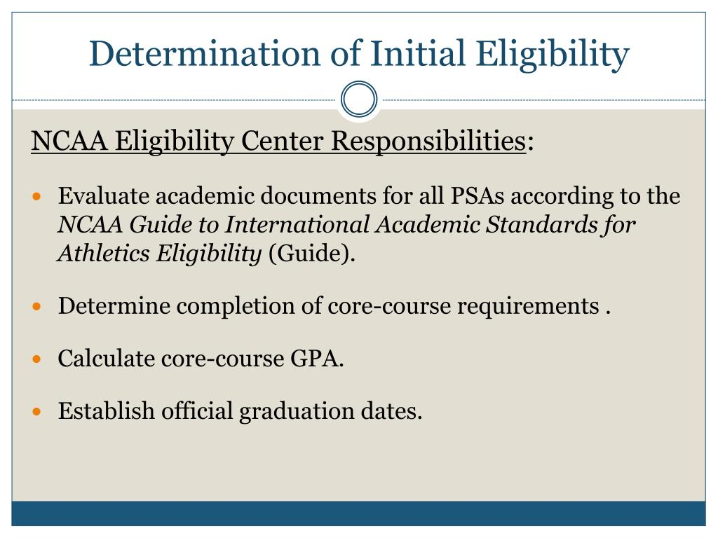 eligibility requirements to be a college athletes 2018-7-17  the national collegiate athletic association  to meet the requirements for grade point average and sat scores,  exploiting college athletes,.
