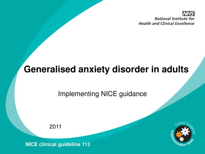 Panic disorder in young adults