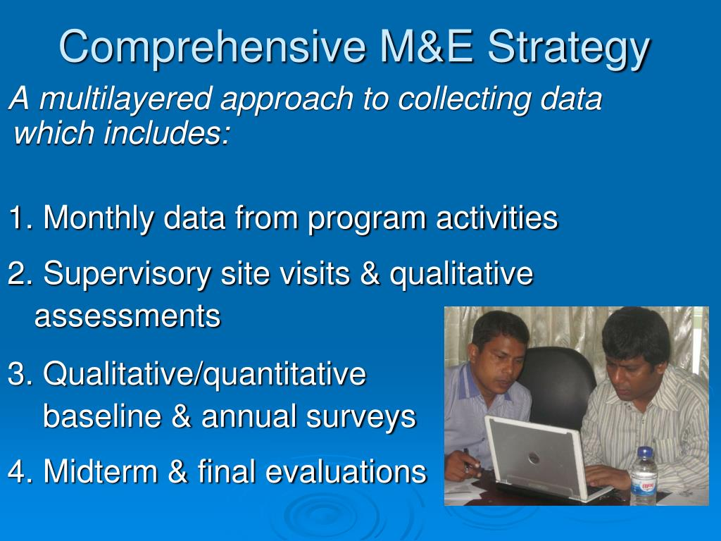 Comprehensive M&E Strategy