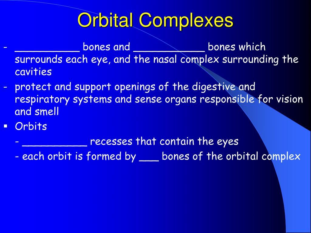 Orbital Complexes