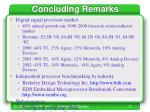 concluding remarks23