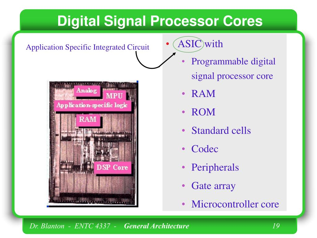 Digital Signal Processor Cores