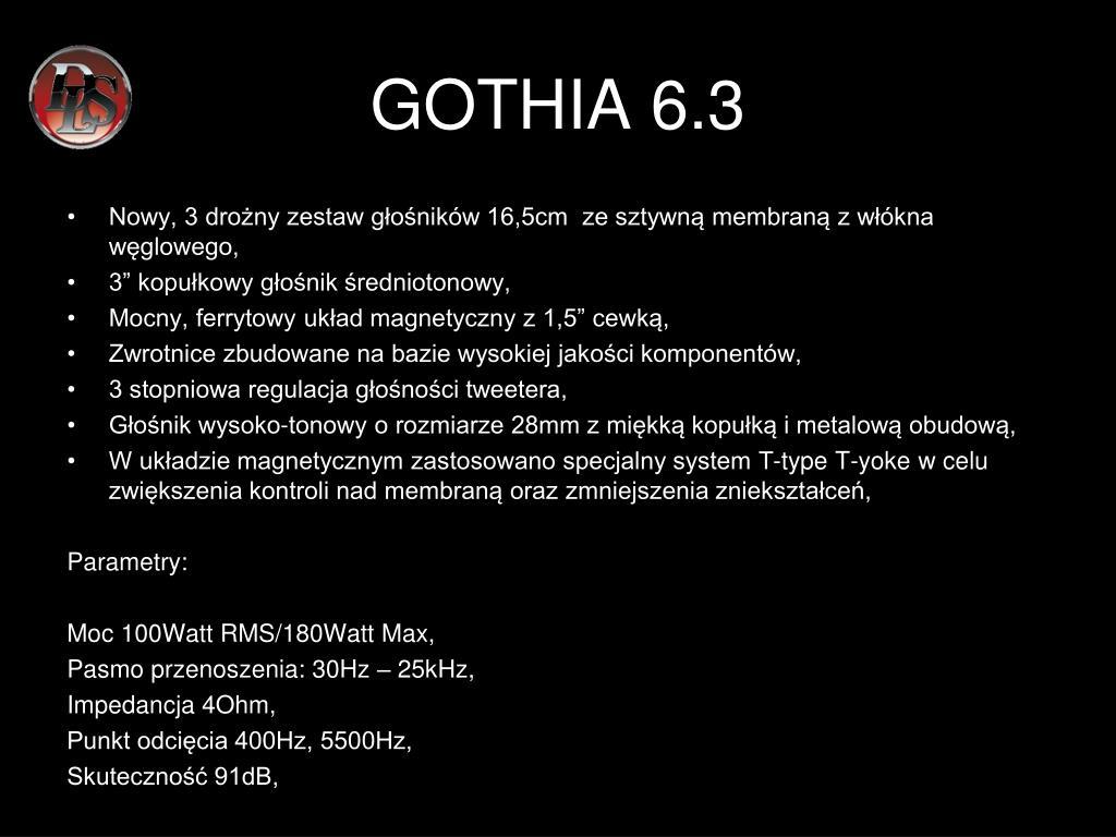 GOTHIA 6.3