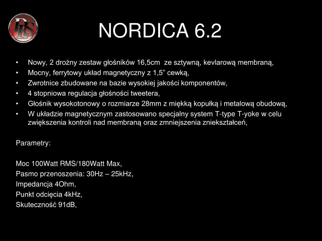 NORDICA 6.2