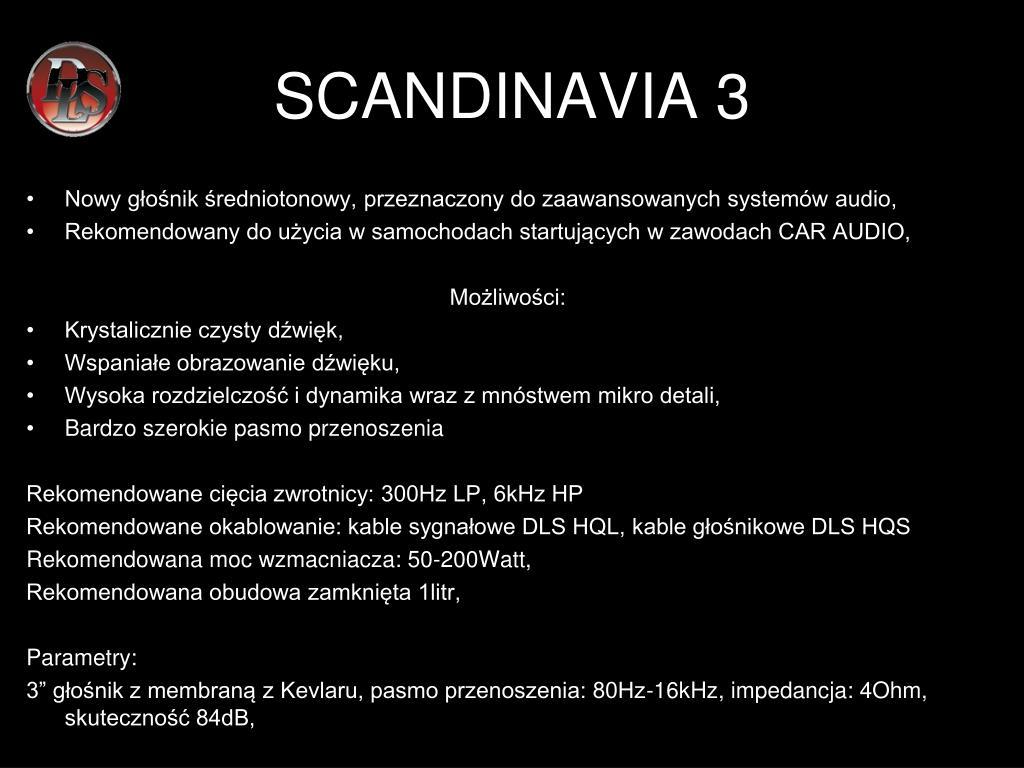 SCANDINAVIA 3