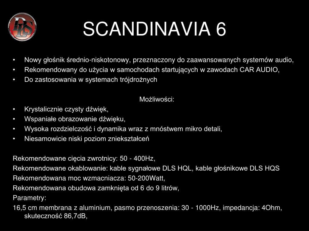 SCANDINAVIA 6