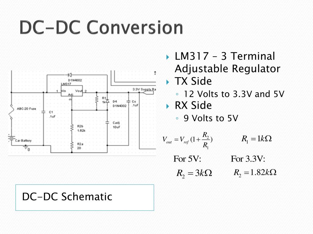 DC-DC Conversion