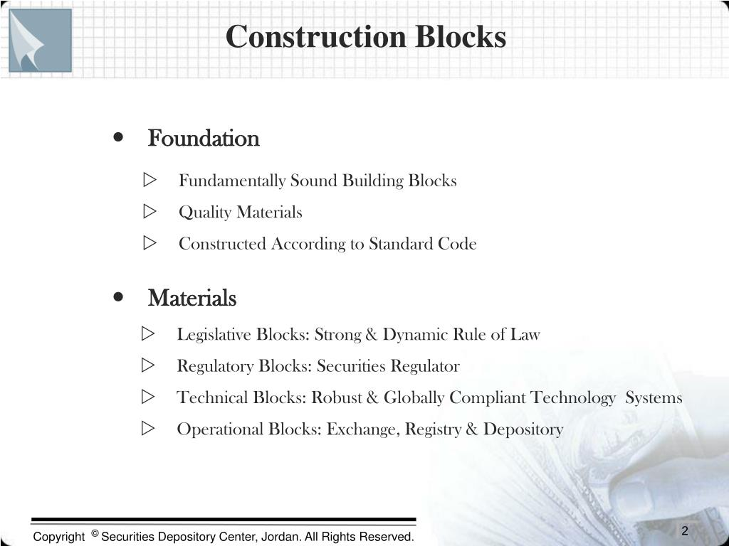 Construction Blocks