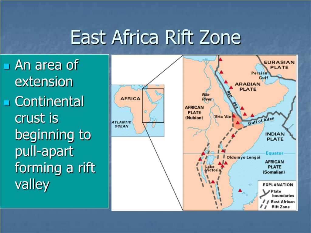 east african rift The large crack that recently exposed itself in kenya is from the east african rift  in the 3,700 mile-long east african rift, there are two smaller.
