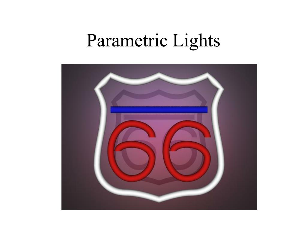 Parametric Lights