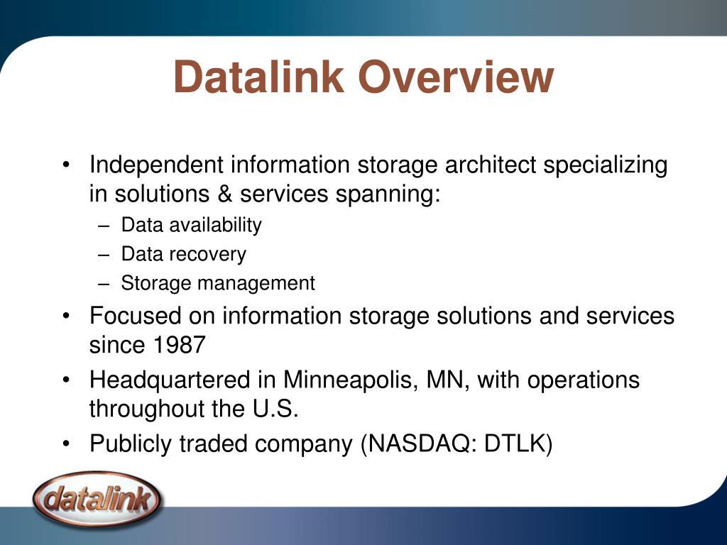 Datalink Overview