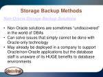 storage backup methods