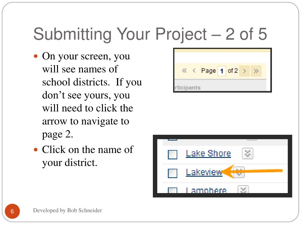 Submitting Your Project – 2 of 5