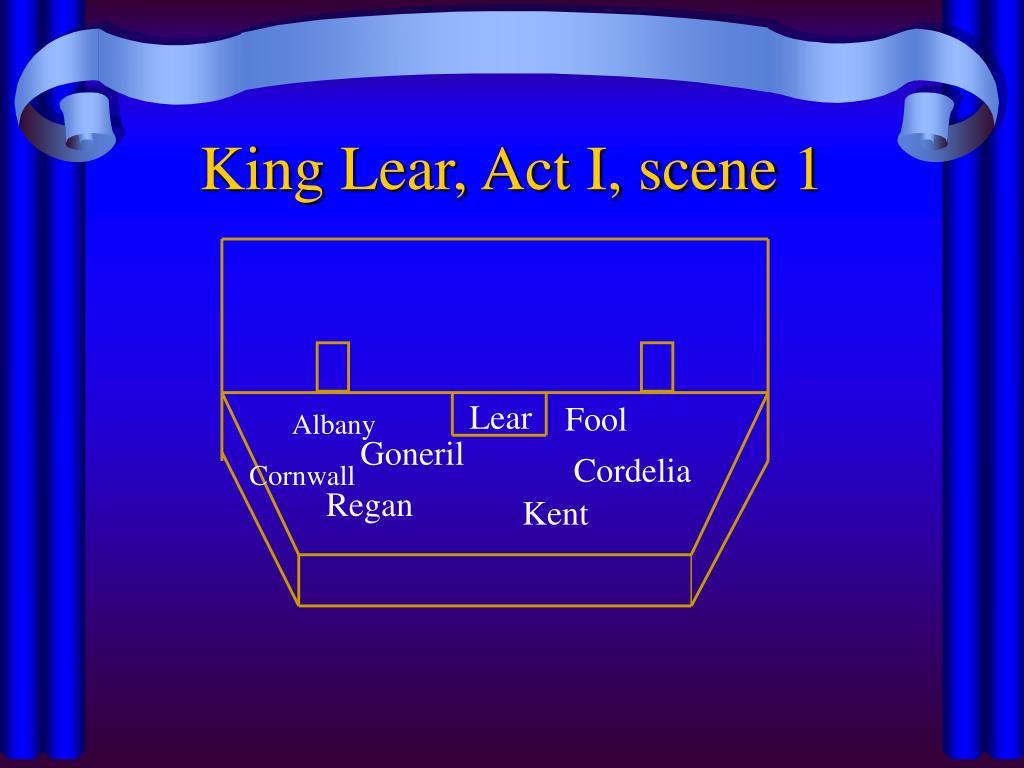 King Lear, Act I, scene 1