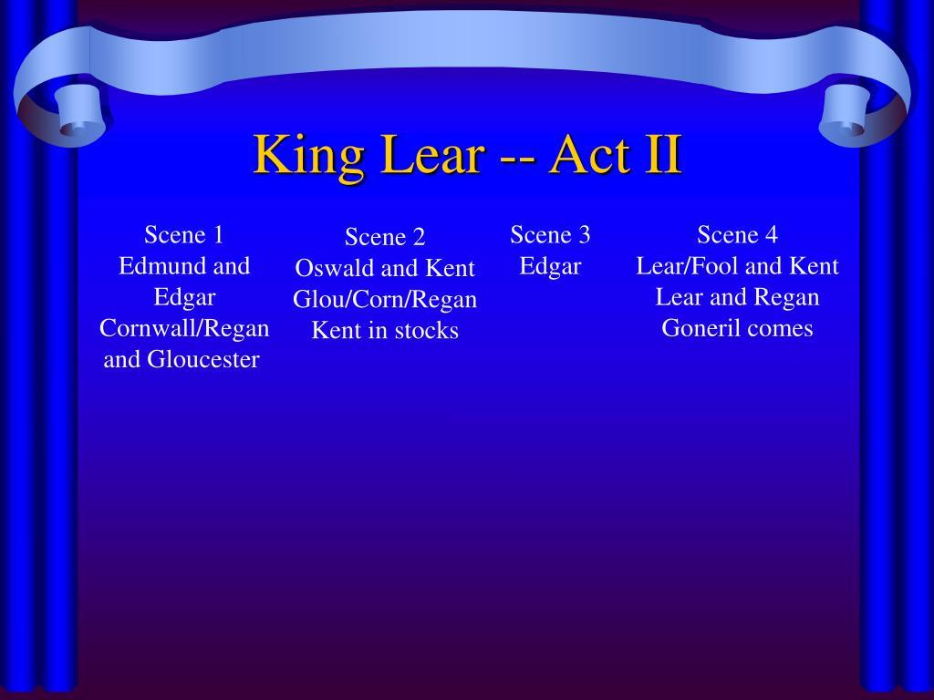 King Lear -- Act II