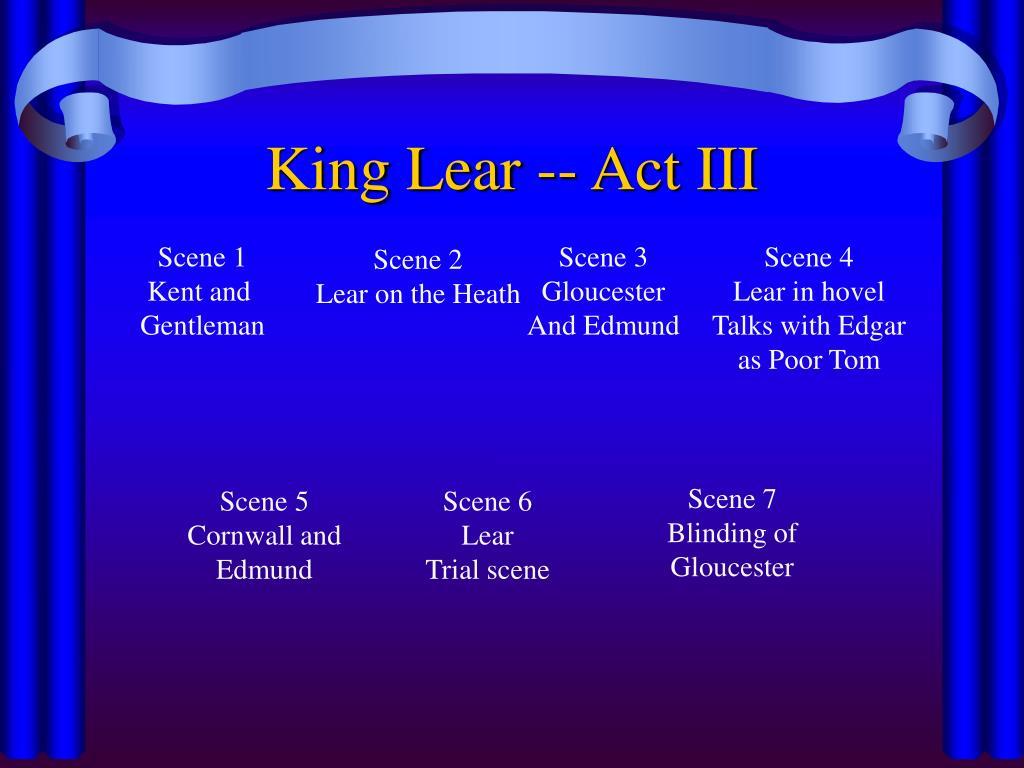 King Lear -- Act III