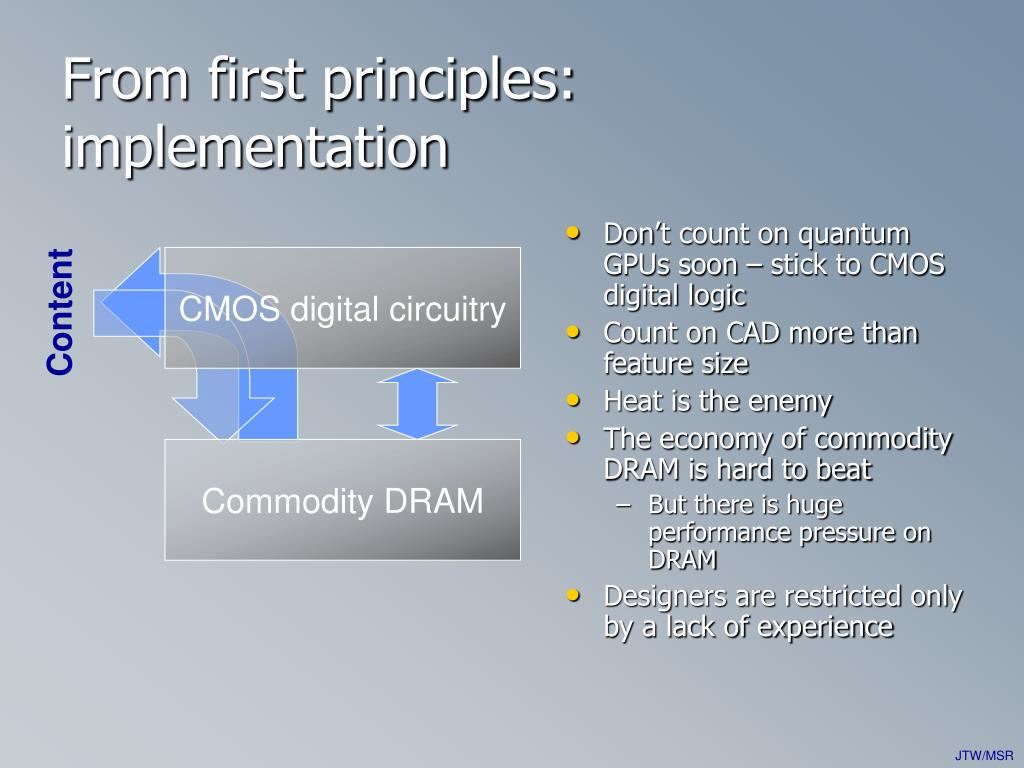 Don't count on quantum GPUs soon – stick to CMOS digital logic