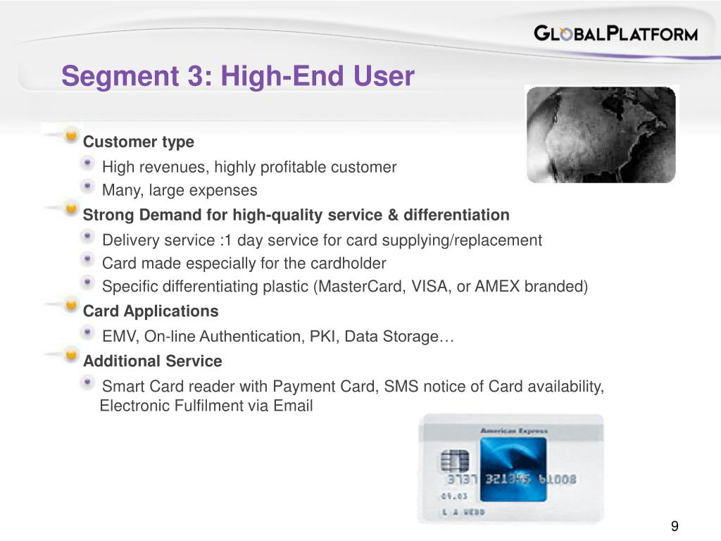 Segment 3: High-End User