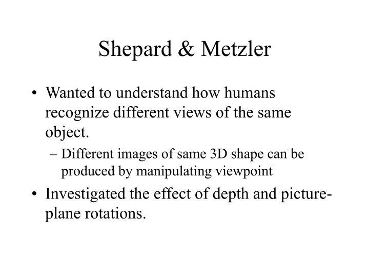 Shepard & Metzler