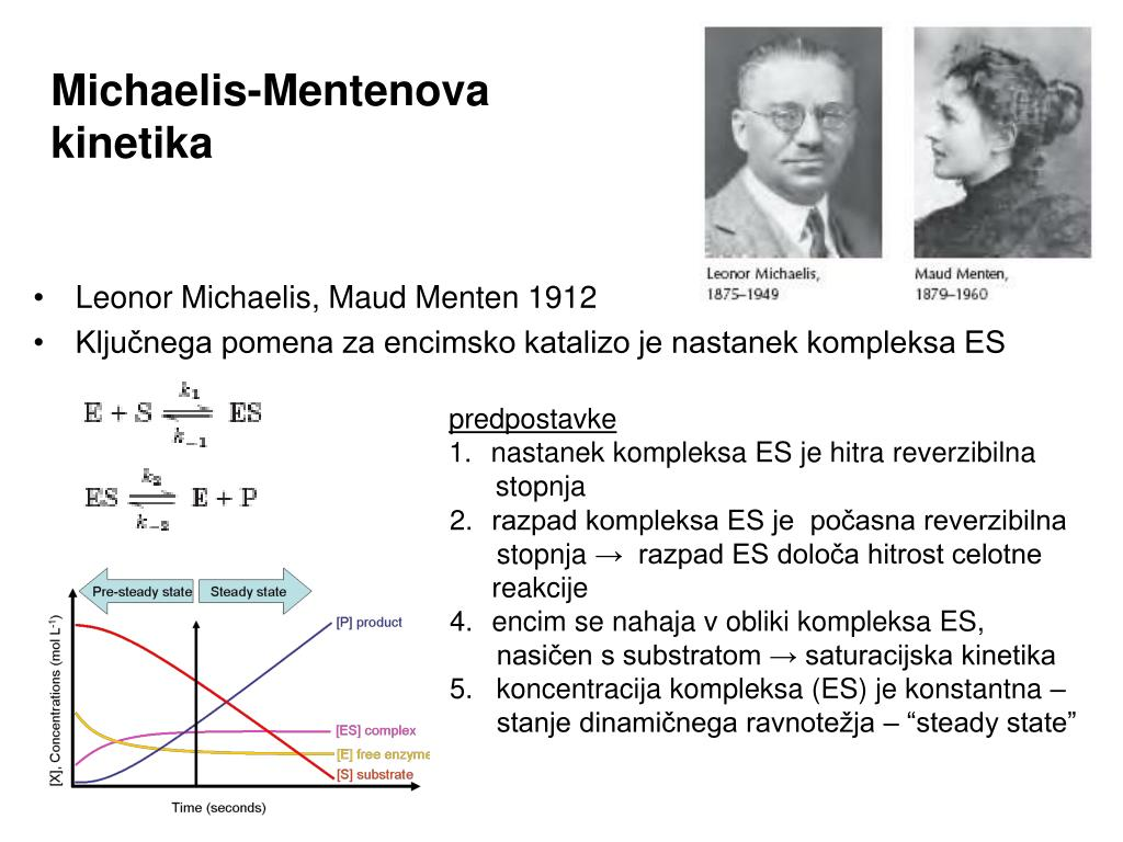 Michaelis-Mentenova kinetika