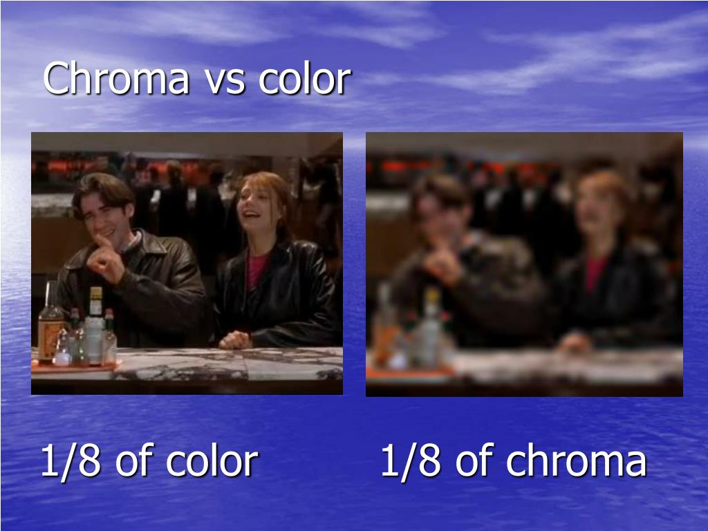 Chroma vs color