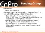 funding group