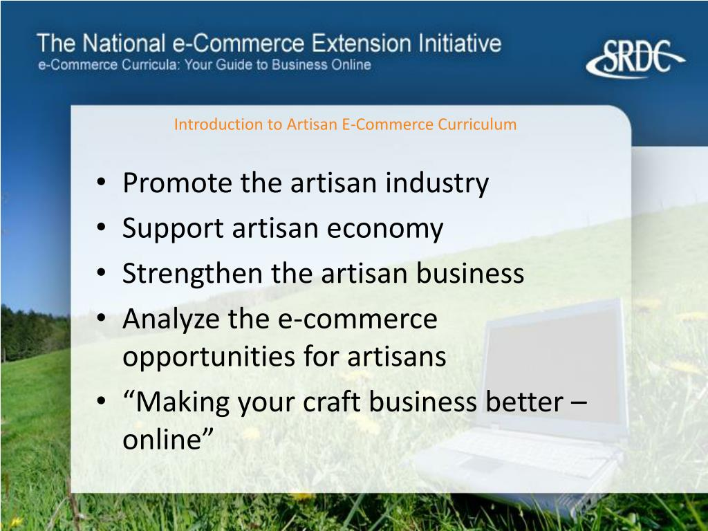 Introduction to Artisan E-Commerce Curriculum