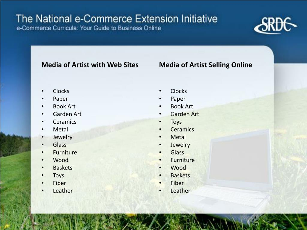 Media of Artist with Web Sites
