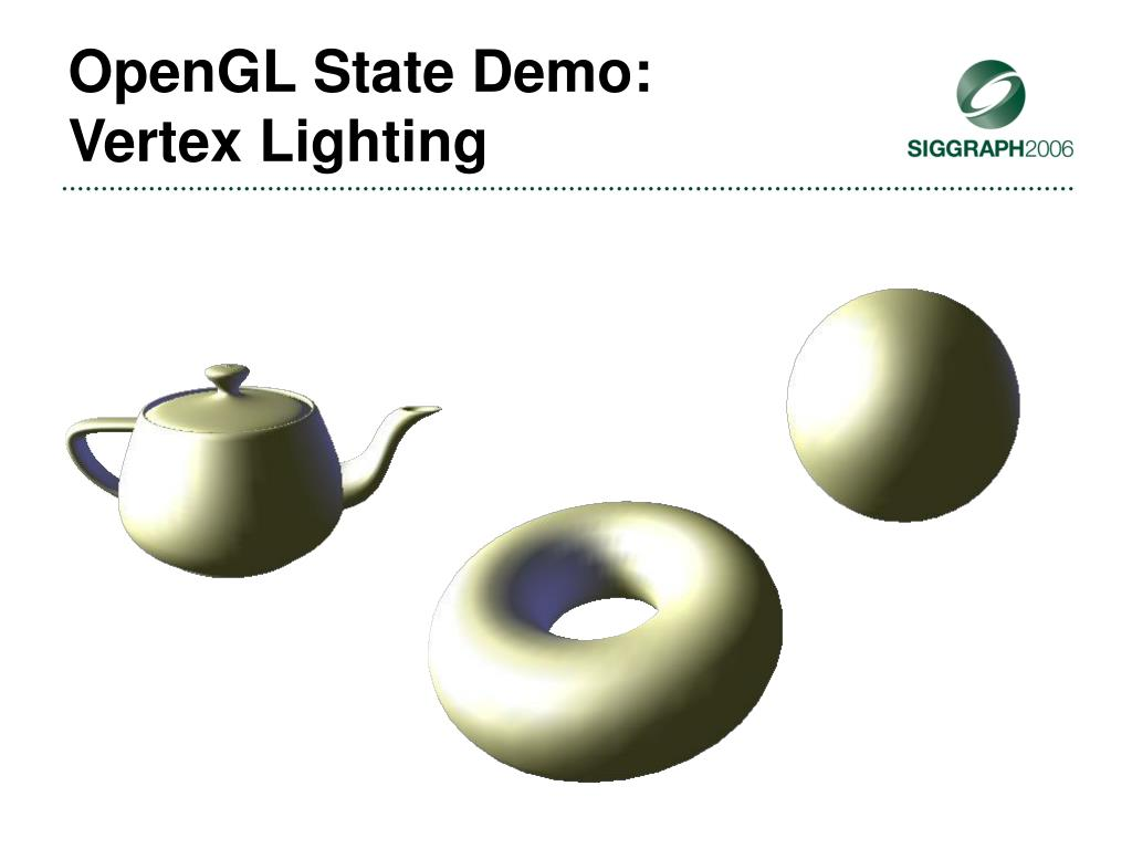 OpenGL State Demo: