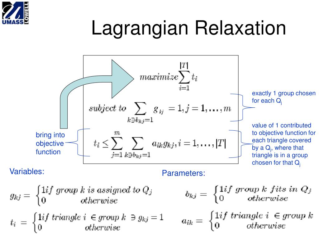 Lagrangian Relaxation