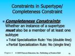 constraints in supertype completeness constraint