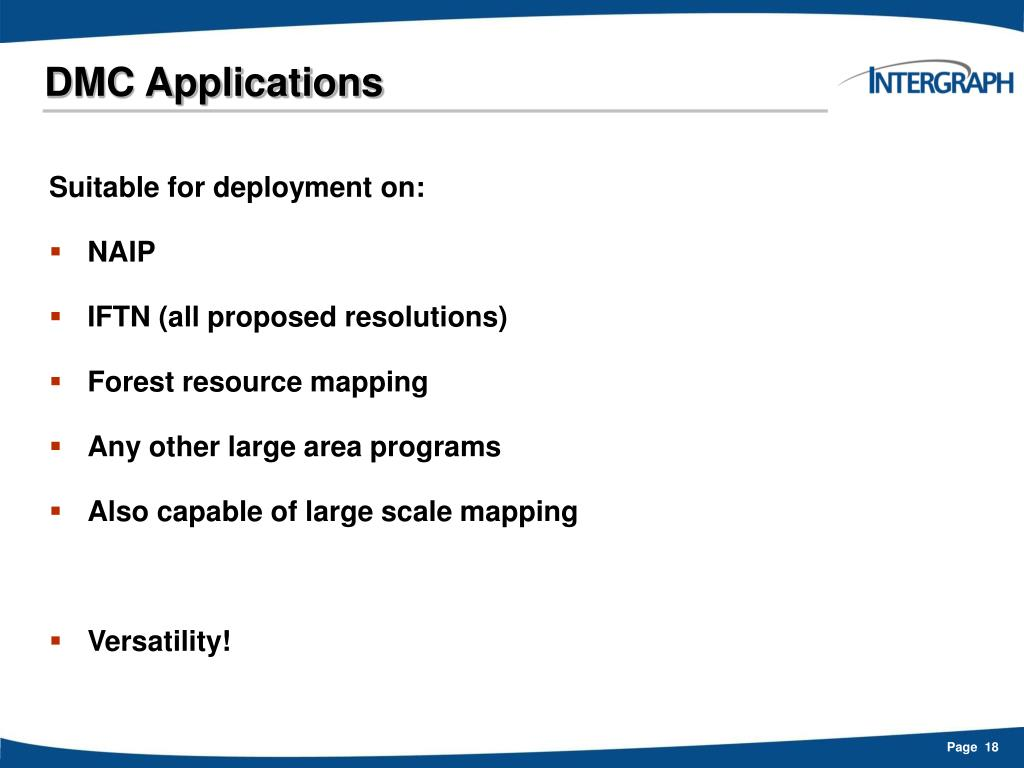 DMC Applications