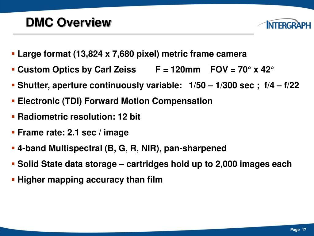 DMC Overview
