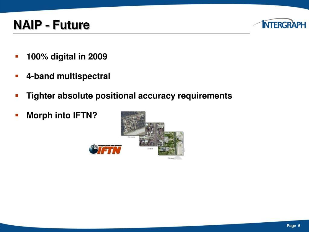 NAIP - Future