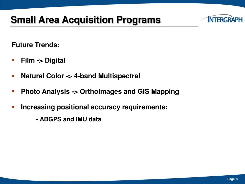 Small Area Acquisition Programs