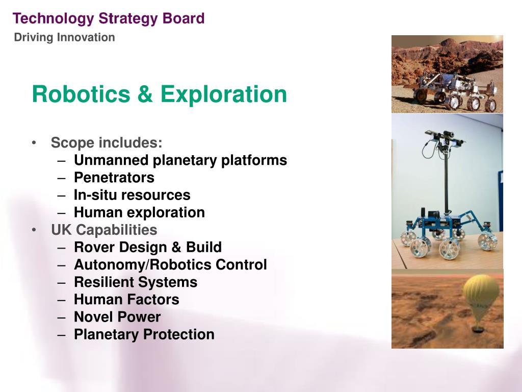 Robotics & Exploration