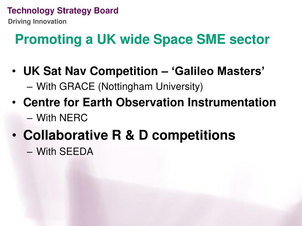 UK Sat Nav Competition – 'Galileo Masters'