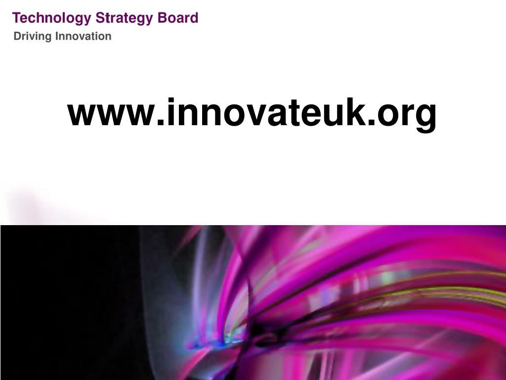 www.innovateuk.org
