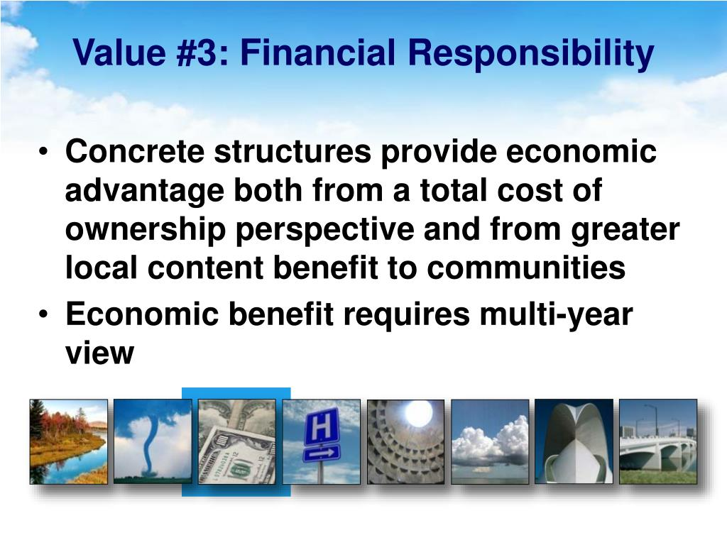 Value #3: Financial Responsibility