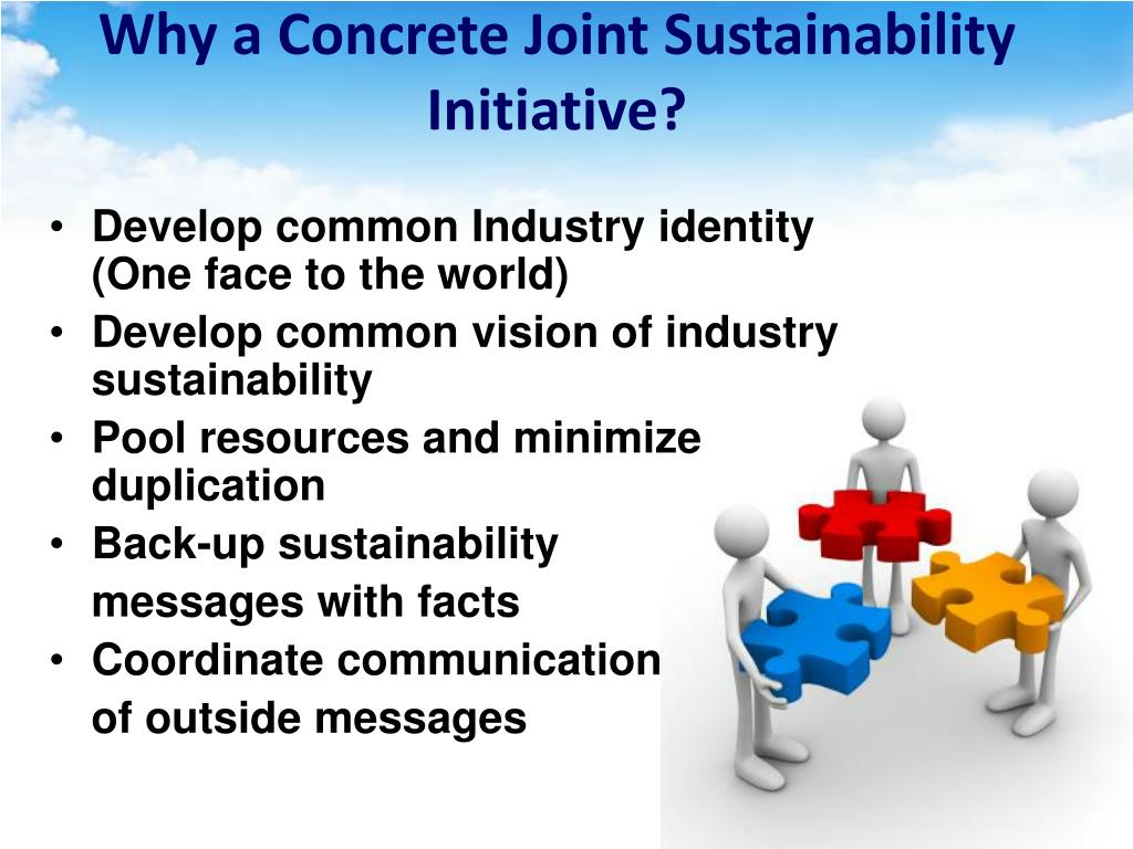 Why a Concrete Joint Sustainability Initiative?