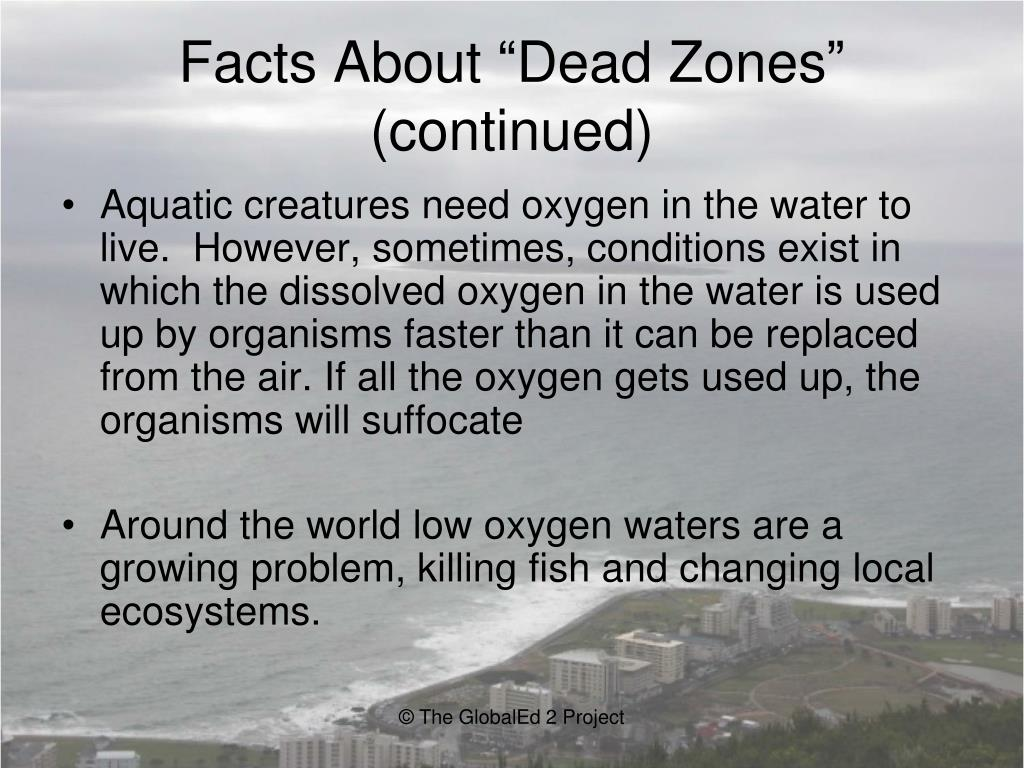 "Facts About ""Dead Zones"""